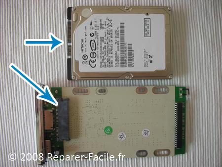 Comment transformer un disque dur d ordinateur portable en disque ... 6992ab4c1ca6