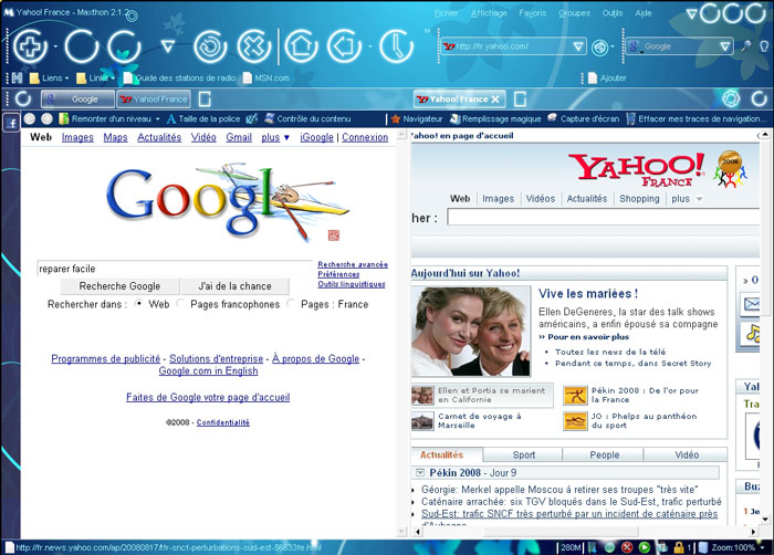 screenshot maxthon