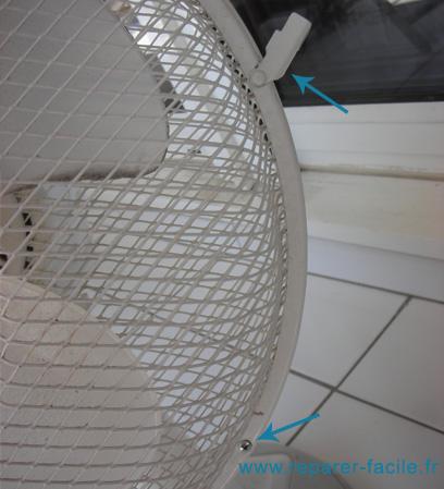 Vis ventilateur
