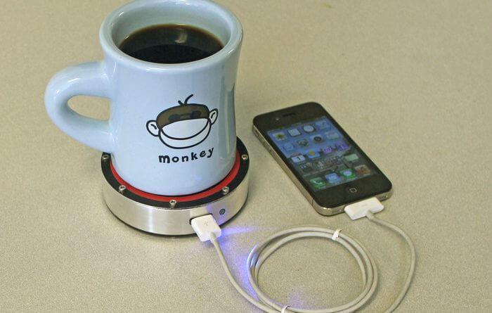 Téléphone Tasse Grâce CaféRéparer Facile Son À Charger Sa X0nOP8wk